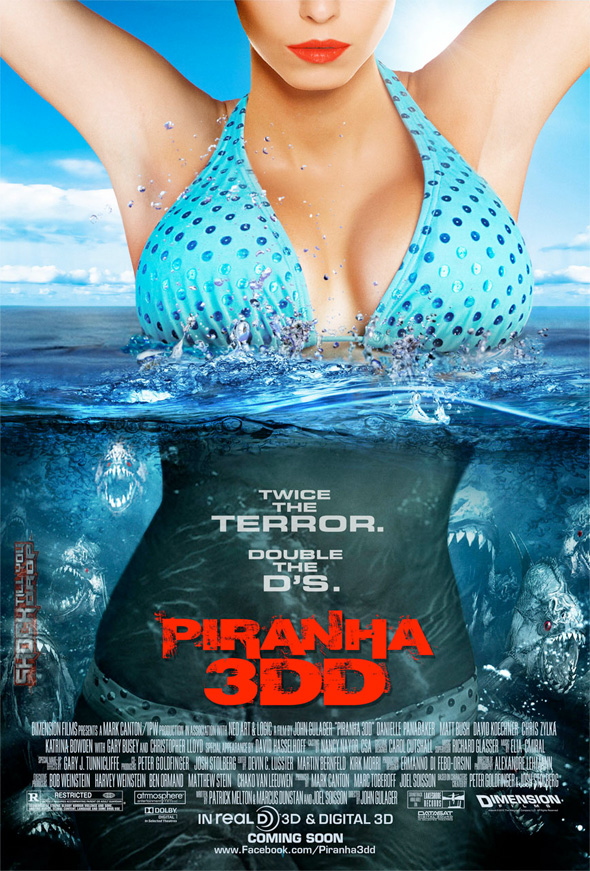 Piranha 3DD - Theatrical Poster