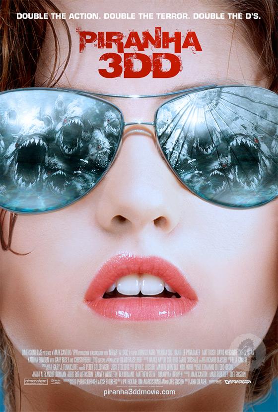 Piranha 3DD - International Poster