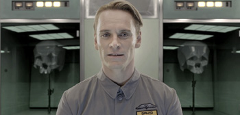 Prometheus Viral - David the Android