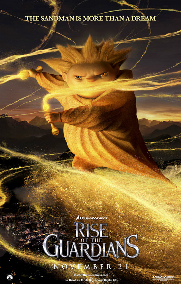 Rise of the Guardians - The Sandman