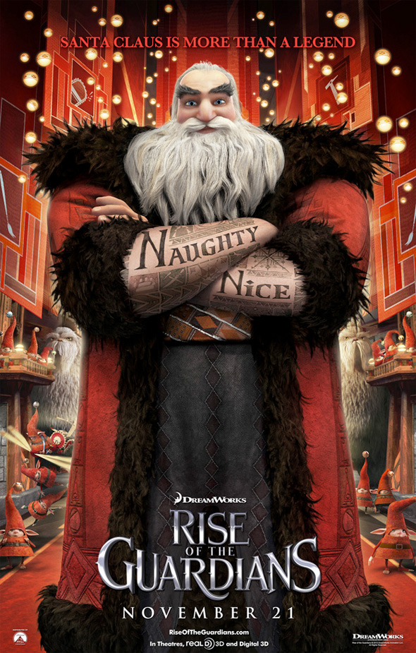 Rise of the Guardians - Santa Claus