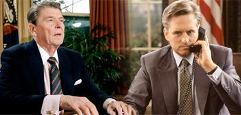 Ronald Reagan / Michael Douglas