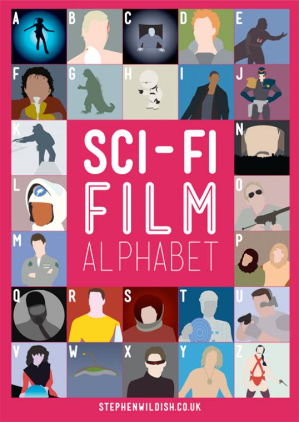 Sci-Fi Film Alphabet