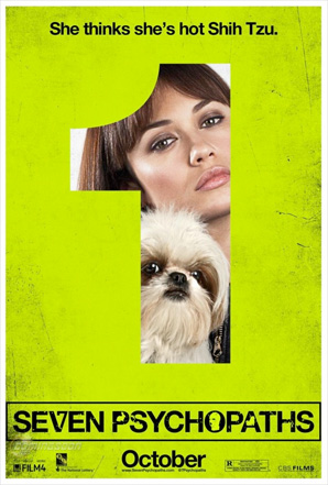Seven Psychopaths Posters - 1
