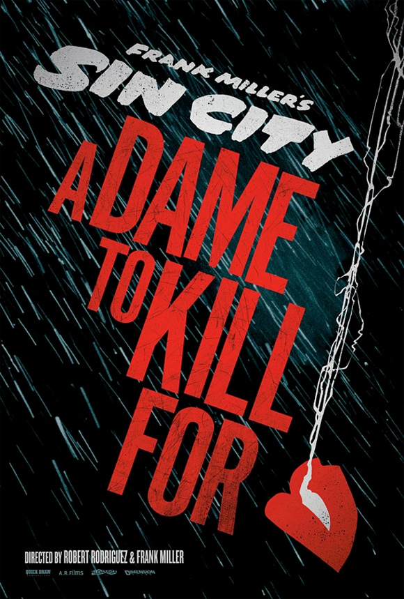 Sin City: A Dame to Kill For - Promo Poster