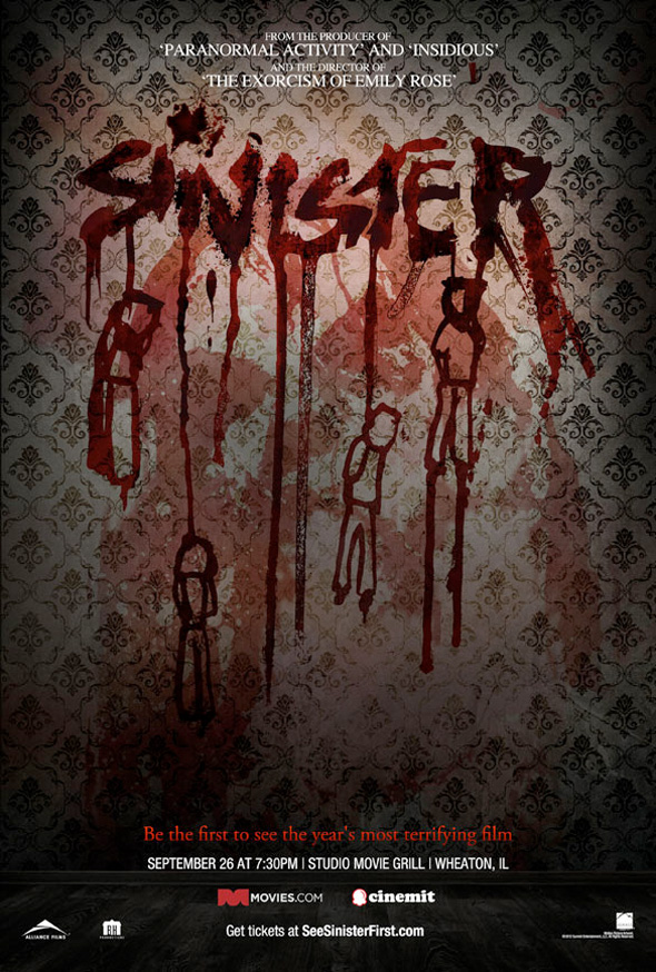> New Creepy Poster for &quot;Sinister&quot; - Photo posted in The TV and Movie Spot | Sign in and leave a comment below!