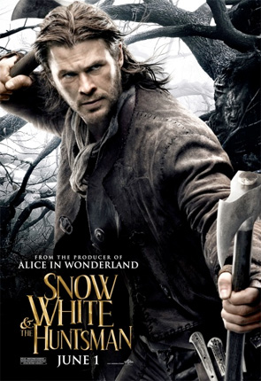 Snow White and the Huntsman - Huntsman Poster