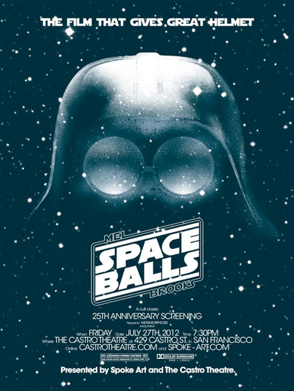 Spaceballs - Double Feature Poster