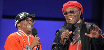 Spike Lee and Samuel L. Jackson