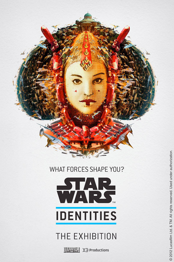 Star Wars: Identities - Queen Amidala Poster