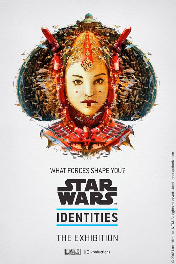 Star Wars: Identities - Queen Amidala Poster
