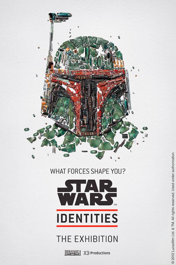 Star Wars: Identities - Boba Fett Poster