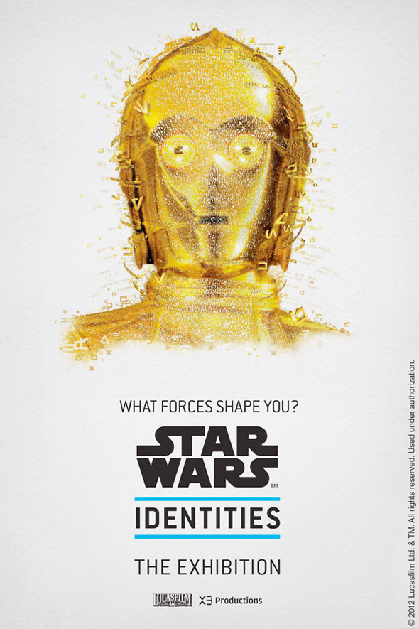 Star Wars: Identities - C-3PO Poster