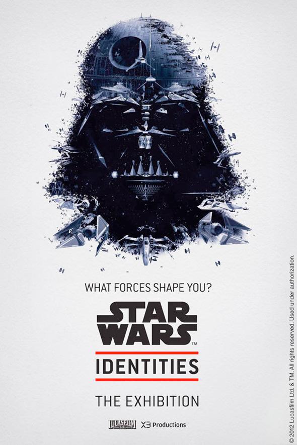 Star Wars: Identities - Darth Vader Poster