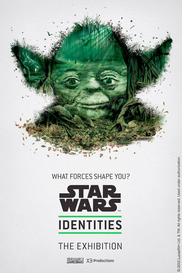 Star Wars: Identities - Yoda Poster