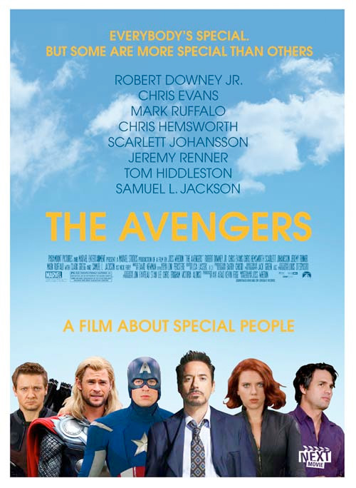 Summer Indie Poster - The Avengers