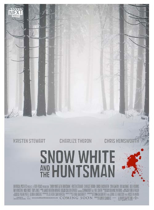 Summer Indie Poster - Snow White and the Huntsman