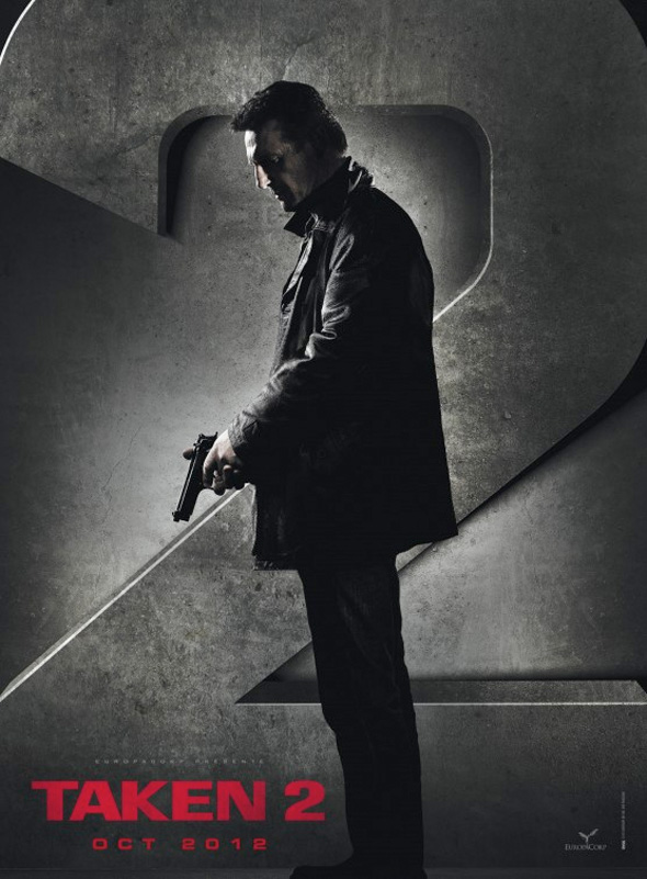 Taken 2 - French Teaser Poster