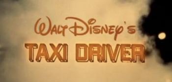 Walt Disney's Taxi Driver