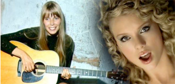Joni Mitchell / Taylor Swift