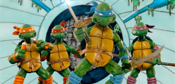 TMNT Cartoon Stop-Motion Titles