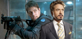 Tom Cruise and Robert Downey Jr