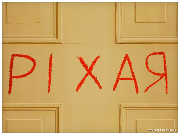 Toy Shining - Pixar Redrum