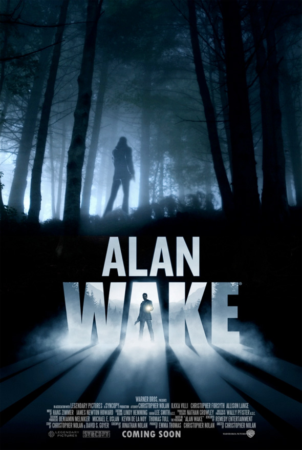 Video Game Movie Posters - Alan Wake