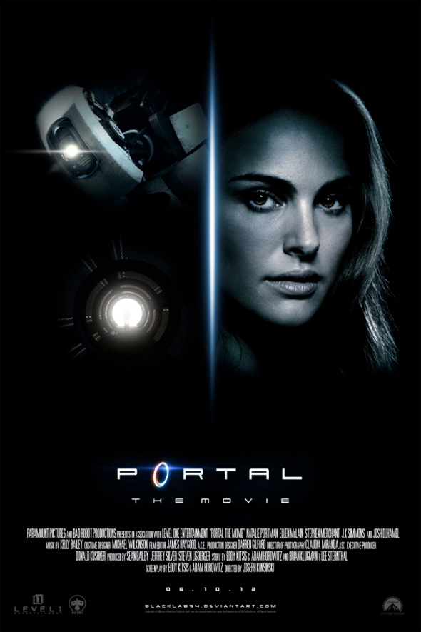 Video Game Movie Posters - Portal