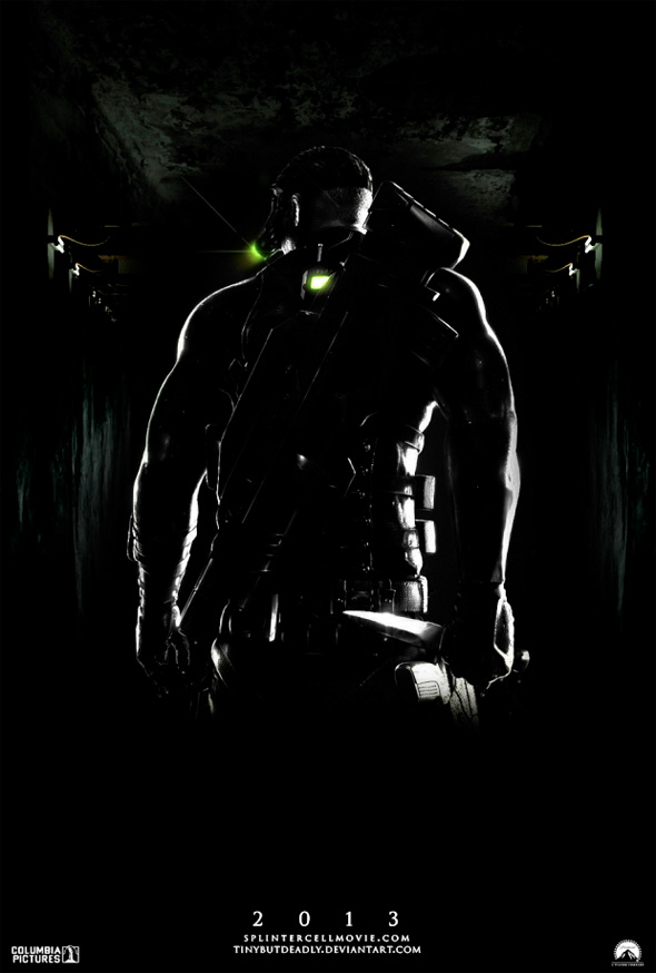 Video Game Movie Posters - Splinter Cell
