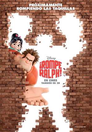 Wreck-It Ralph - International Poster - Bricks 1