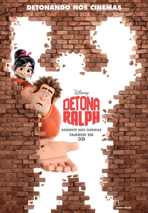 Wreck-It Ralph - International Poster - Bricks 2