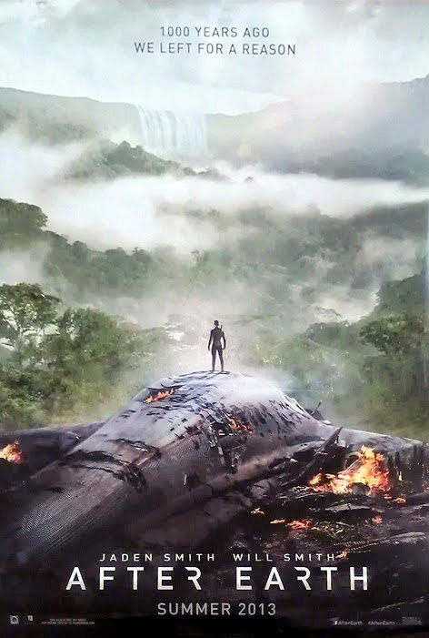 New Poster for Shyamalan's Sci-Fi 'After Earth' Crash ...