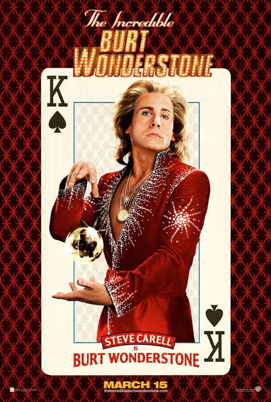 The Incredible Burt Wonderstone Poster - Steve Carell