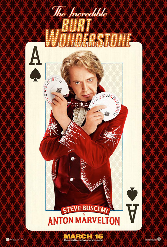 The Incredible Burt Wonderstone Poster - Steve Buscemi
