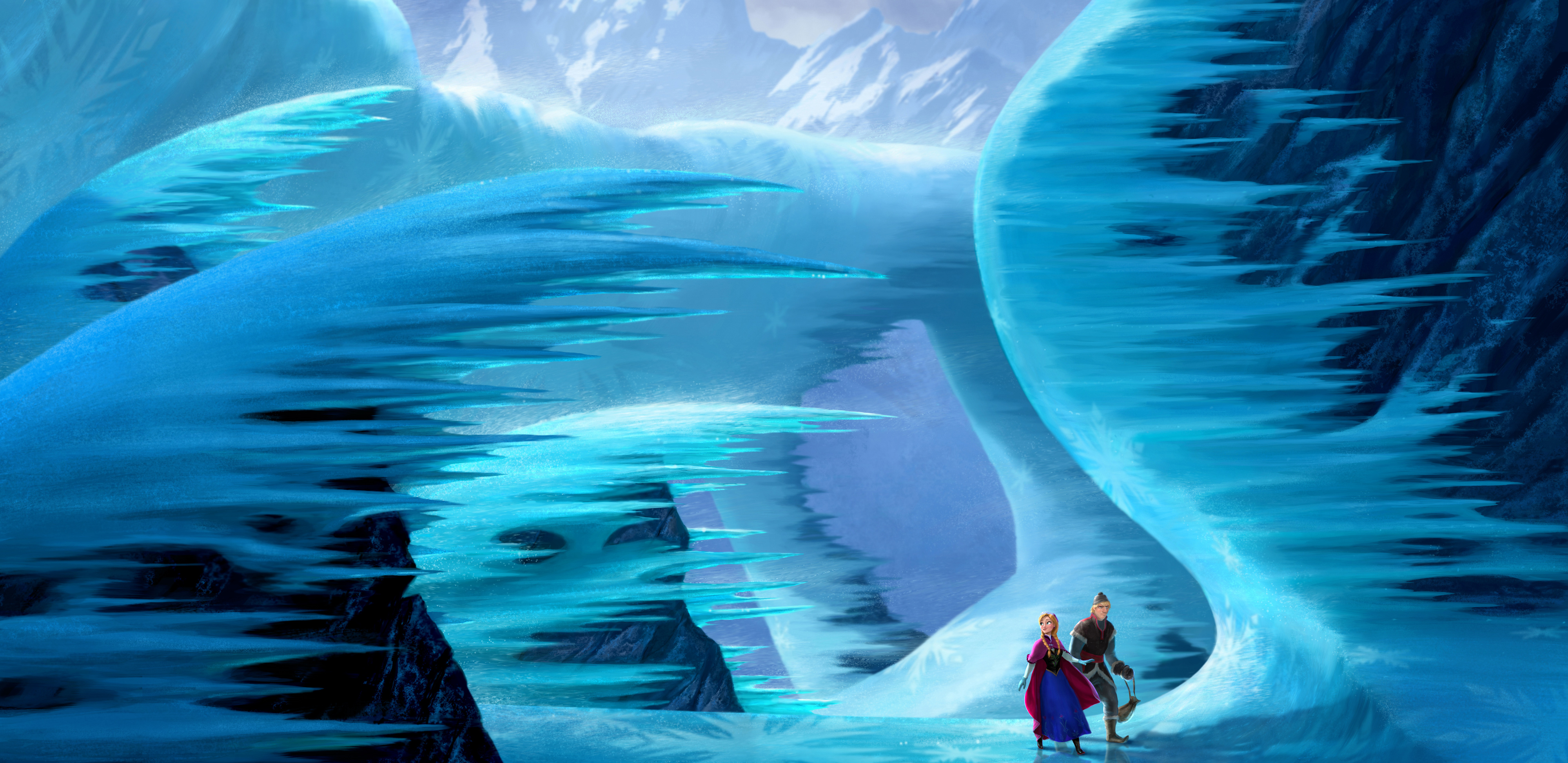 First Look at Disney's Next Animated Movie 'Frozen' is, Well, Frozen