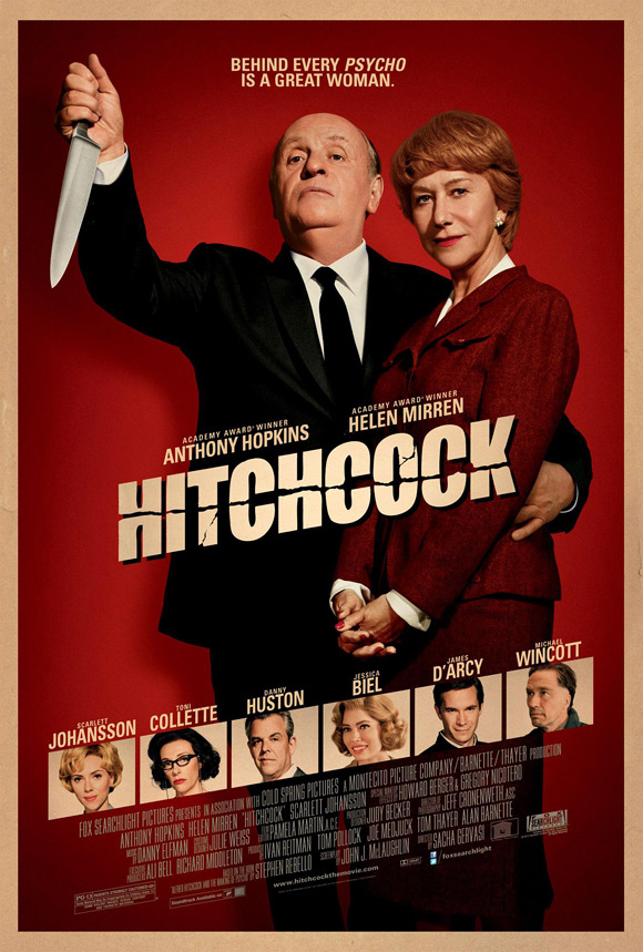 Hitchcock Anthony Hopkins Poster