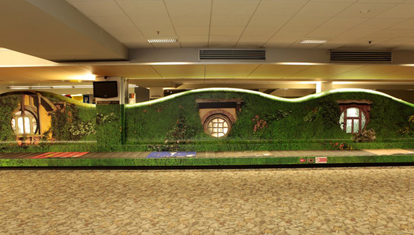 The Hobbit Baggage Carousel