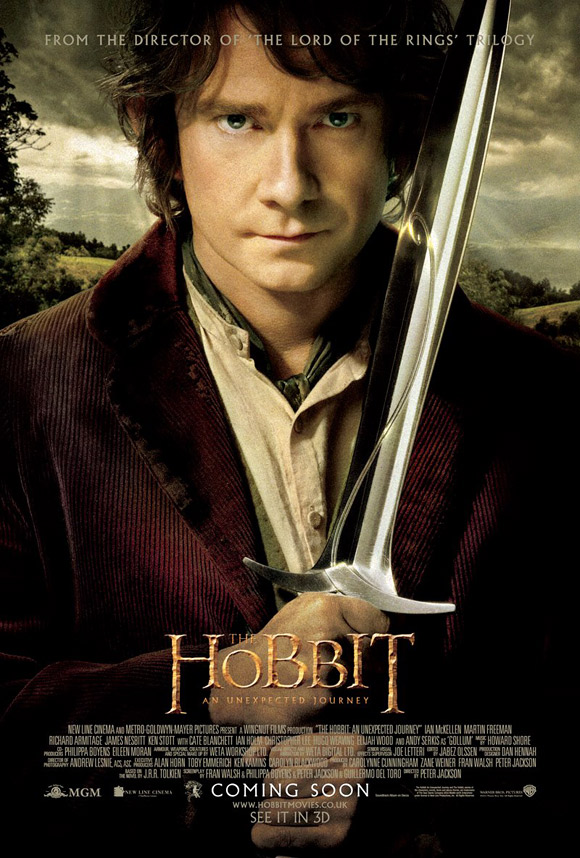 Bilbo Baggins The Hobbit Poster