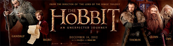 The Hobbit Banner Part 1