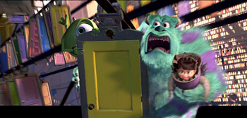 Pixar Monsters Inc 3D Re-Release