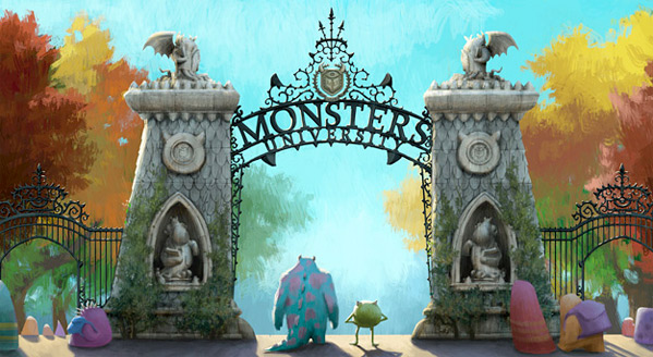 Pixar Concept Art - Monsters University