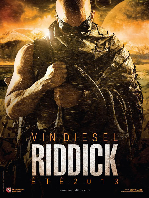 Riddick Poster