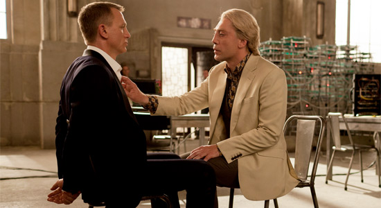 Skyfall - Bond and Silva / Javier Bardem