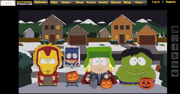 South Park Halloween Episode