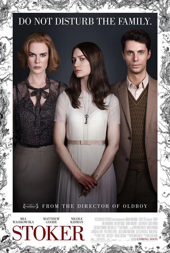 Stoker Official US Poster