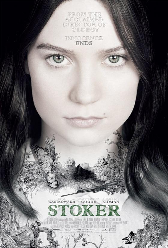 Stoker Poster - Mia Wasikowska
