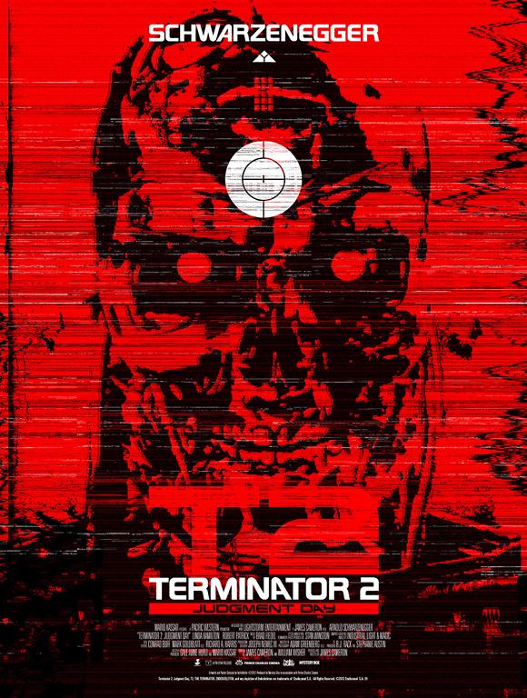 Terminator 2 Poster Artwork