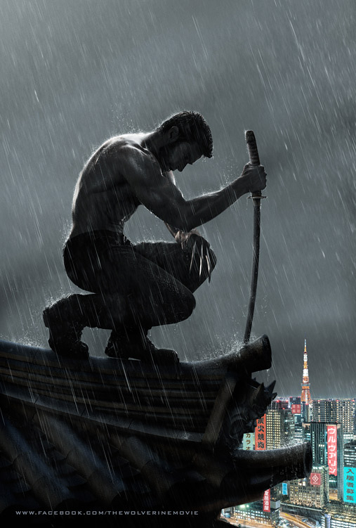 The Wolverine Rain Motion Poster