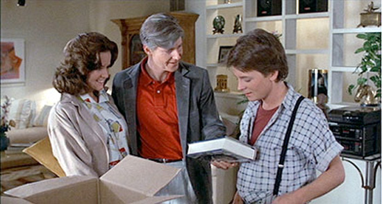 Back to the Future - Marty, George and Lorraine McFly